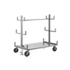 "Cantilever-Style Pipe & Bar Rack - 48"" x 36"" - Floor Lock"