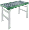 "Ball Transfer Table 28"" OAW, 2' long, 4"" Centers, 3.5"" Frame"