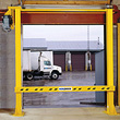 Powered Dock Door Safety Gate - 8'x8' Opening