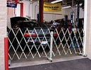 Mobile Barrier Gate, Aluminum - 12' wide Starter