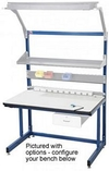 "Workstation - Basics Type, Add On , ESD Laminate, 60""L x 30""W Top"