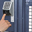 Biometric Reader - Sliding Door