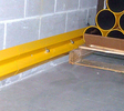 Wall Bumper Rail - 4'L