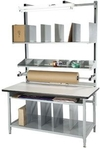"Packaging Bench, Plastic Laminate, 72""L X 30""W"