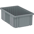 "Dividable Grid Containers - 16-1/2"" x 10-7/8"" x 6"", Carton of 8"