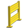 5ft. W x 42 in. H Steel Guard Rail - Double High Starter