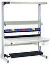 "Technical Workstation, 60"" x 30"", Single Side, Plastic Laminate Top - Adder"