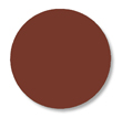 Floor Tape - Dot, Brown, 3 1/2-in. Dia., Box of 102