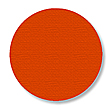 Floor Tape - Dot, Orange, 3 1/2-in. Dia., Box of 102