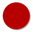 Floor Tape - Dot, Red, 3 1/2-in. Dia., Box of 102