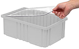 Clear Dust Cover Inlays for Dividable Grid Containers - Qty: 3