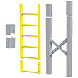 "Modular Ladder - 6 Step, 33""W x 11""D, Stacking Extension"