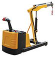 Electric Powered Counterbalance Floor Crane - 1,500 lb. Cap.