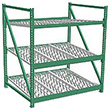 Heavy Duty Gravity Skatewheel Flow Rack, 84h x 72w x 60d, 3 Shelves