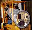 "8"" Convex Fork Lift Truck Mirror"