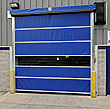"High-Speed Dock Door - 36"" per sec., Vinyl, 12'x12'"