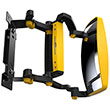 Forward View Forklift Mirrors - Wide View, 1 Pair