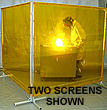 "Weld ""Tuff"" Screen - Single Panel,  6' W x 6' H"