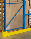 "Pallet Rack End Guard, 46""L, Left Side"