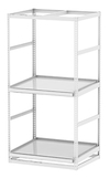 "Horticultural Shelving with Trough Shelf - 2 levels, 48""W x 36""D x 96""H"