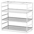 "Horticultural Shelving with Trough Shelf - 3 levels, 96""W x 48""D x 96""H"