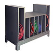 "7 Compartment Hose Stand - 34""W x 25""D x 40""H"