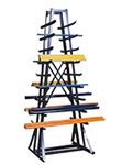 "Horizontal Bar Storage Rack - 84""h x 30""w x 30""d, 1800 lb. capacity"