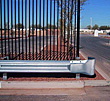 "Highway Style Guardrail - Round Ends  - 28'L x 16-1/2""H x 12""D"