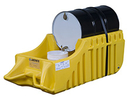 Drum Spill Containment Caddy, Outdoor, Yellow