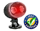 Forklift Approach Warning Light - LED Red, with Mounting Magnet