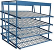 "Carton Flow Rack Starter - 96""W x 48""D x 96""H, 28 Pick Faces"