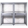 "Wire Mesh Security Cabinet, 18"" D x 84"" H x 96"" W - Dual Hinged Doors - Fully Assembled"