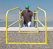 LadderGuard System for Parapet Walls & Flat Edge Roofs