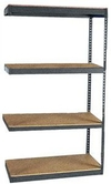 "Long Span Shelving, 60"" x 24"" x 84"", w/Decks, 1200 Lbs. Cap. - Adder"