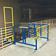 "High Pallet Safety Gate - Open Top, 60""W x 62""D"