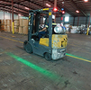 Forklift Warning Light - Single Side - LED - Green