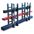 16w x 13.5h x 12d Mini-Module Stacking Rack