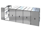 "Mobile Aisle Shelving System, 264""L x 96""W - Drawers & Shelves"