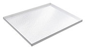 "Perforated Aluminum Cannabis Drying Tray - 30-1/2""W x 24""D with 1-1/4"" lip"