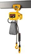 Electric Hoist w/ Push Trolley - 5 Ton, 15' Lift, 11 ft/min