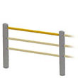 "Rail for Flexible Handrail - 58""L"