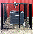 "HVAC Protection Cage - 36"" x 36"", Bolt Down"