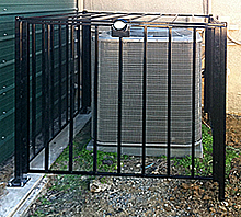 "HVAC Protection Cage - 48"" x 48"", Bolt Down"