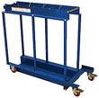 Cylinder Transport Caddy for Pallet Jack - holds 2 tanks