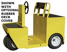 1-Person Tugger - 36 Volt, 7.5 hp, 5,000 lb. Tow Capacity