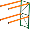 "Seismic Pallet Rack - 42""D x 120""H x 96""W Adder, 2 Beam Levels, 5080 lb. Cap./Level"