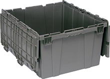 "Attached Top Container - 2.44 Cu. Ft. Volume - 23-7/8""L x 19-3/8""W x 12-1/2""H"