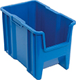 "Giant Stackable Container - 17-1/2""L x 10-7/8""W x 12-1/2""H, Carton of 4"