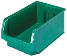 Carton of 6: 19-3/4L x 12-3/8w x 7-7/8h Magnum Giant Open Hopper Bins