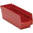 "Shelf Bins - 11-7/8""L x 4-1/8""W x 4""H, Carton of 36"